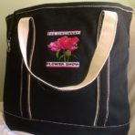 Flower Show Logo Tote – Black