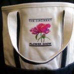 Flower Show Logo Tote – White